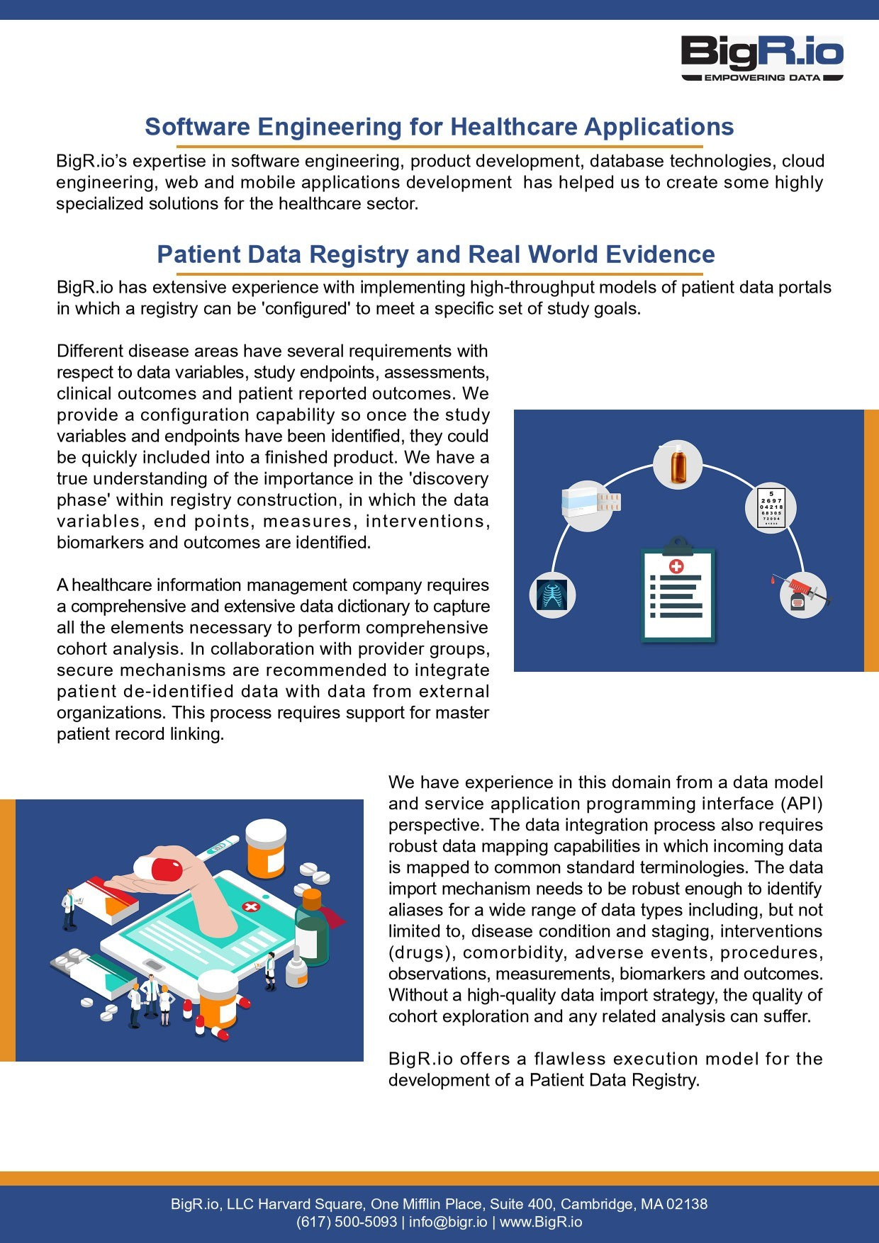 Patient Data Registry Sheet