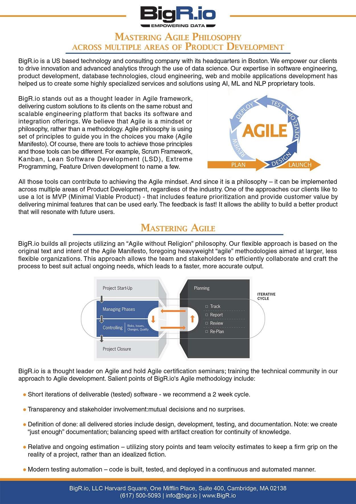 Mastering Agile